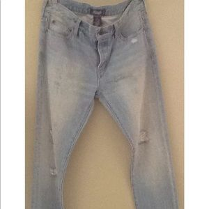 Ralph Lauren Rugby distressed jeans. NWT.